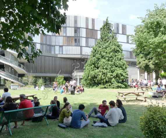 504 واژه ضروری انگلیسی - معنی کلمه campus با استفاده از عکس و تصاویر