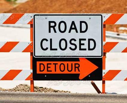 504 واژه ضروری انگلیسی - معنی کلمه detour با استفاده از عکس و تصاویر